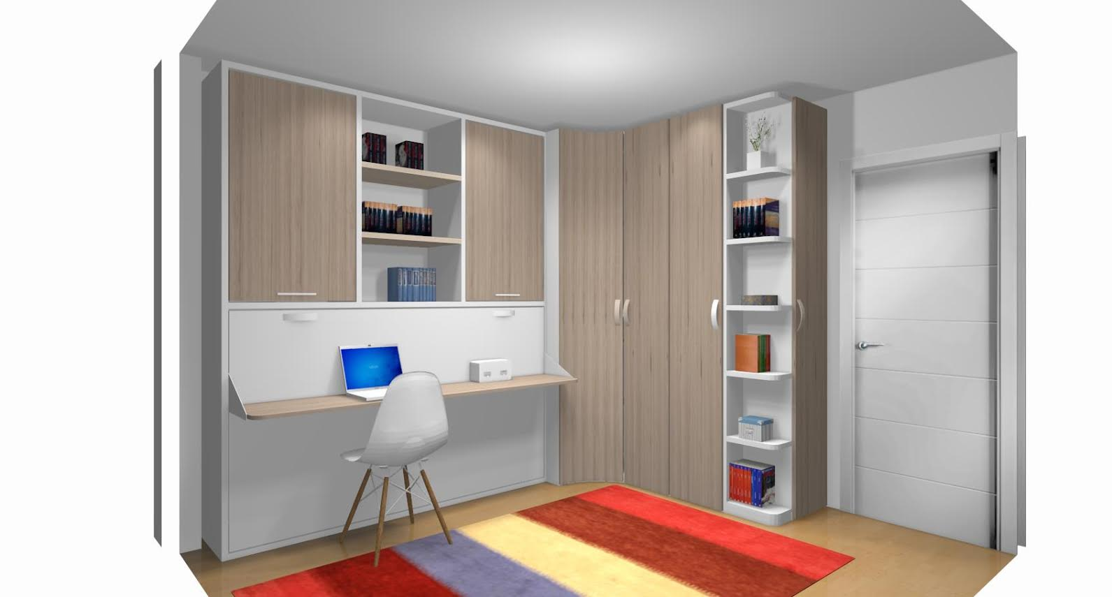 Como amueblar una habitaci n peque a - Amueblar dormitorio pequeno ...