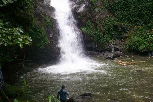 Air terjun sekar langit - tempat wisata di magelang