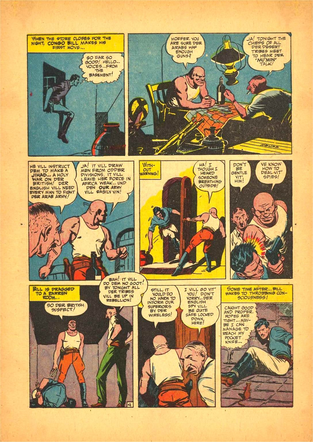 Read online Action Comics (1938) comic -  Issue #50 - 60
