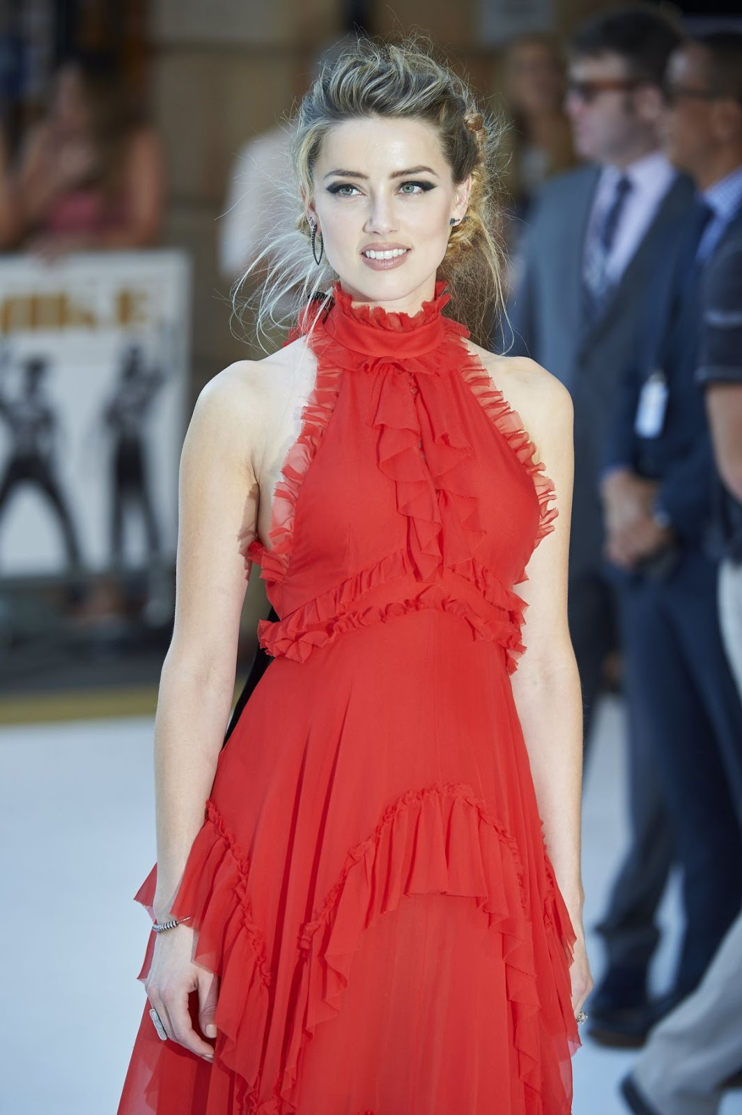Amber Heard at 'Magic Mike XXL' London Premiere