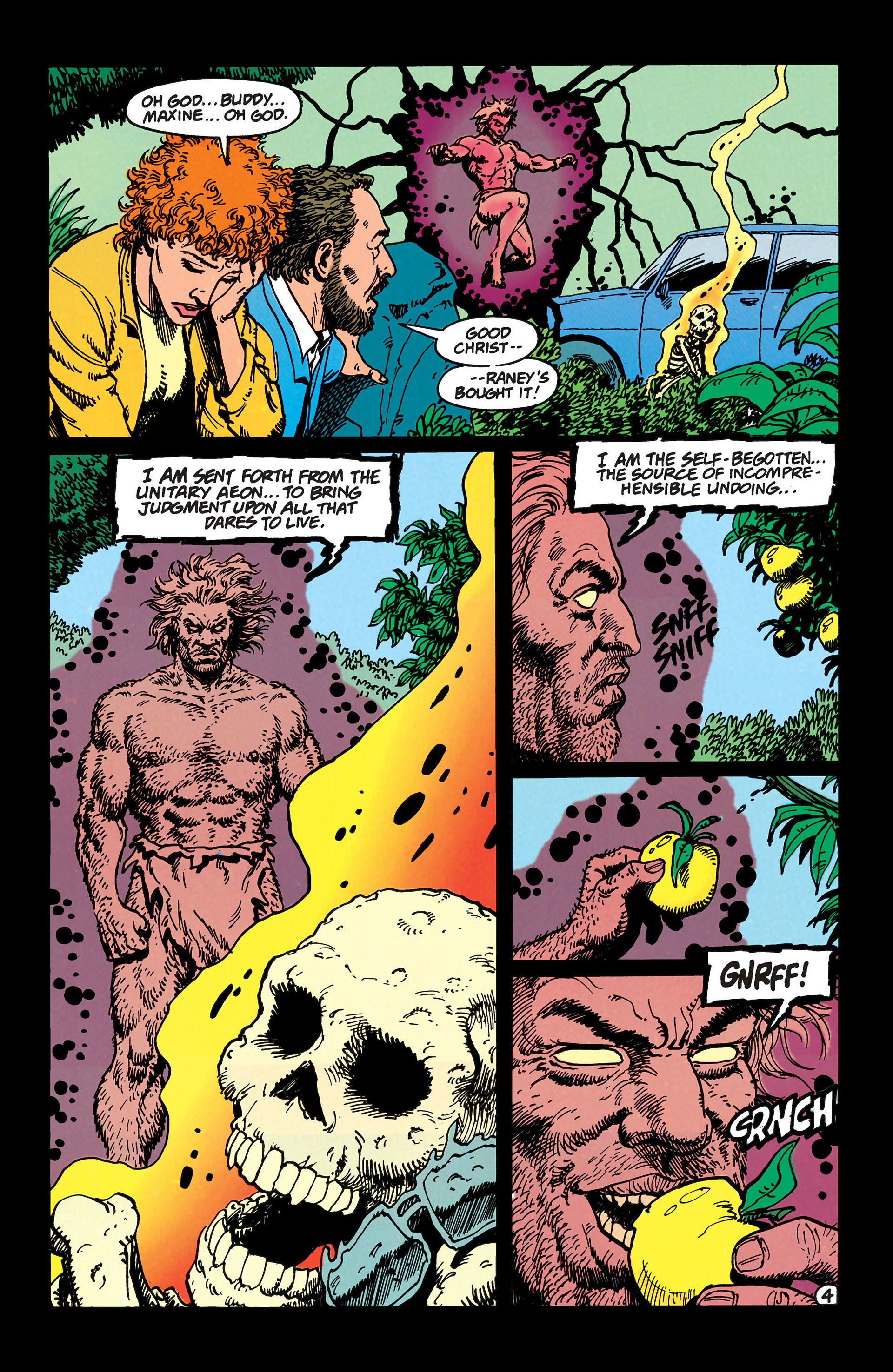 Read online Animal Man (1988) comic -  Issue #48 - 5