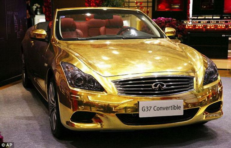 Topworth: Incredible Gold Car