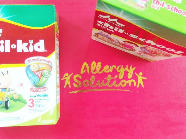 Solusi pada Anak yang Alergi Susu Sapi