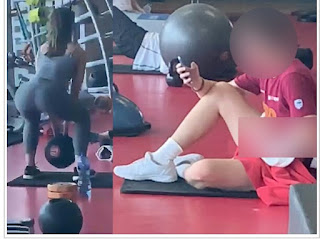 Man Caught Masturbating As Woman Squats in The Gym