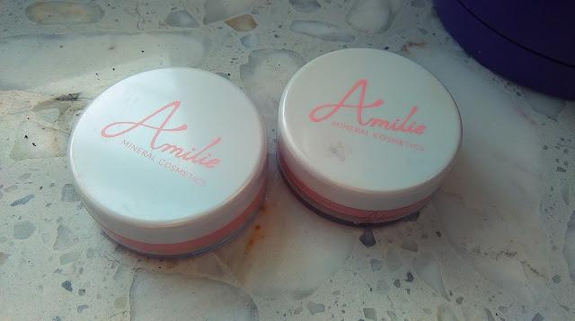 Recenzja kosmetyków mineralnych Amilie