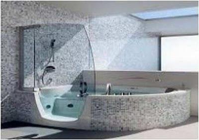 Tips Bathroom Designs With Spa Tub