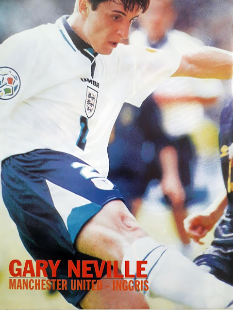 GARRY NEVILLE OF ENGLAND 1996