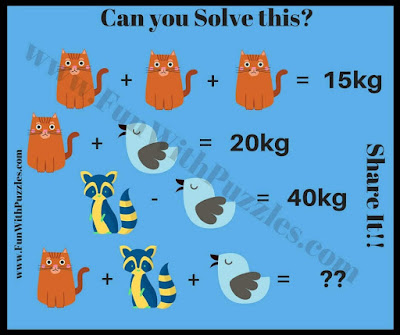 Maths IQ Question to solve questions
