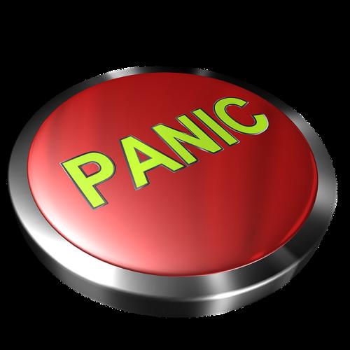 Botão de pânico. #PraCegoVer