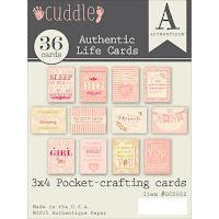 http://www.kolorowyjarmark.pl/pl/p/Zestaw-36-dwustronnych-kart-Authentic-Life-Cards-3x4-8x10cm-Cuddle-Girl/5554