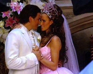 Glamour model Katie Price and Peter Andre