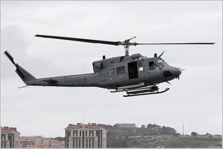 Helicóptero Augusta Bell 212