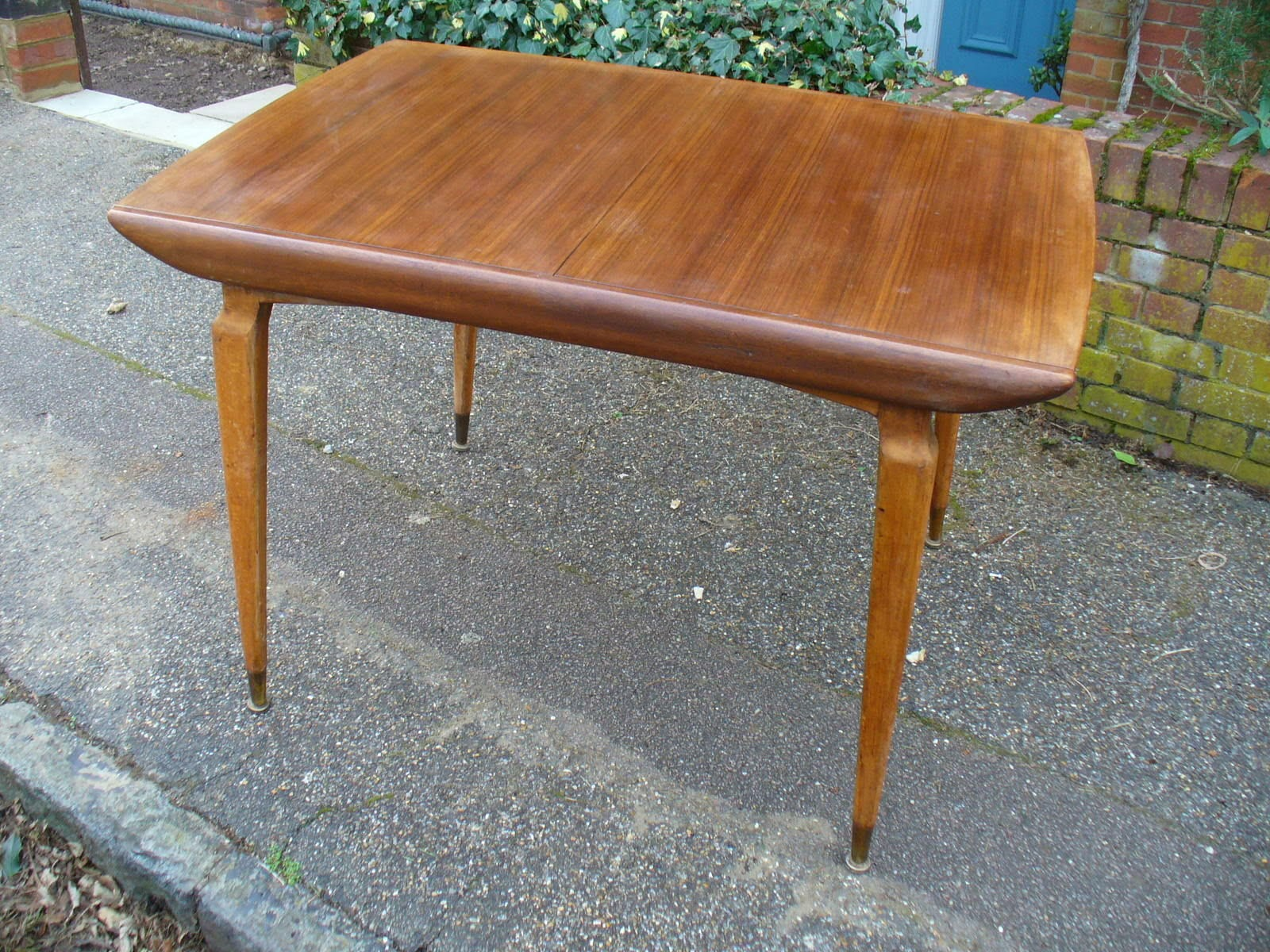 Brilliant 50S Australian Walnut And Beech Dining Table Customarchery Wood Chair Design Ideas Customarcherynet