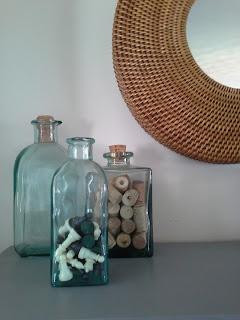 vintage vases wine cork chess pieces vase fillers