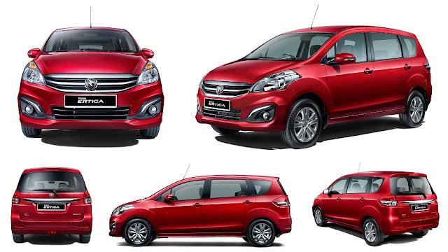 MPV Pilihan Keluarga Bawah Harga RM100K - Proton Ertiga