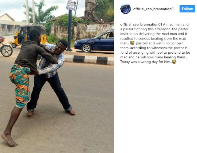 Lokoja Pastor Attempts To Heal A Mad Man But Gets Beaten (Photos)2