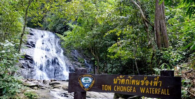 Waterfall of Ton Chong Fa
