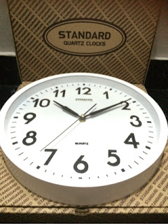 Jam Dinding Standard Polos Diameter 30cm