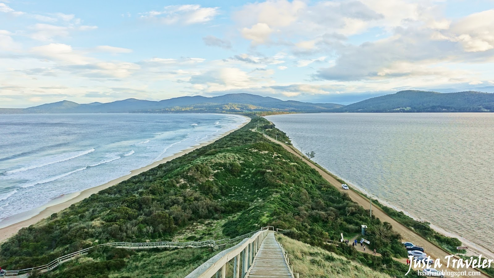 塔斯馬尼亞-景點-推薦-布魯尼島-Bruny-Island-The-Neck-澳洲-Tasmania-Tourist-Attraction-Australia