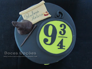 Harry Potter Platform 9 3/4 birhday cake