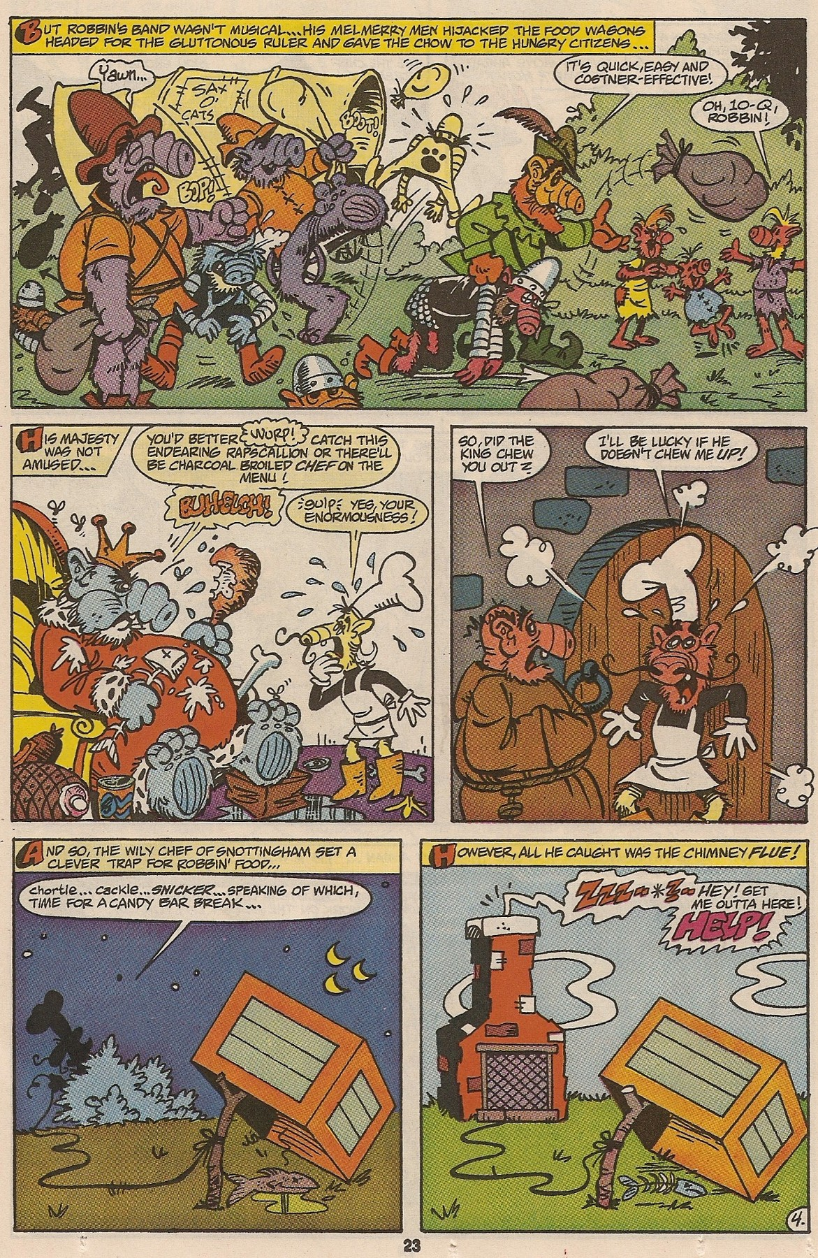 Read online ALF comic -  Issue #47 - 24