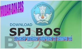 Aplikasi SPJ BOS  lengkap Terbaru