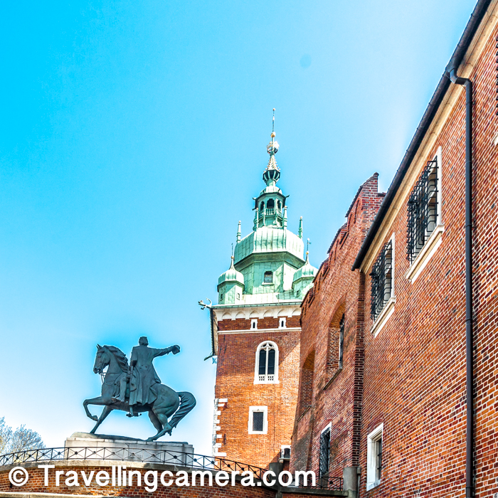 If you are in Krakow between April to September and visiting Wawel Castle, there are some seasonal shows which are also recommended :    1. Dragen's Den  2. Sandomierska Tower  3. Wawel Architecture & Garden    Related post - St Mary's Basilica - One of the Architectural Marvels of Krakow City in Poland