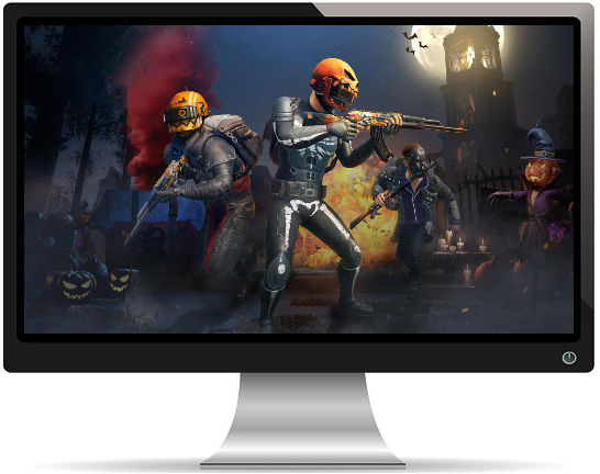 PUBG Happy Halloween - Fond d'écran en Ultra HD 4K 2160p