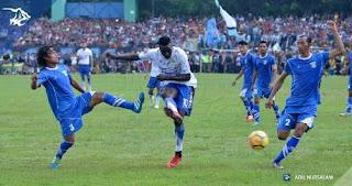 Perserang vs Persib Bandung 0-6