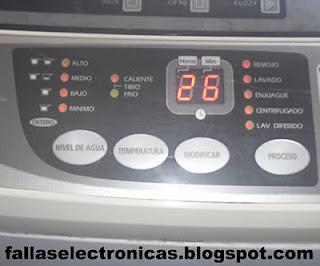 como solucionar placa electronica de lavadora