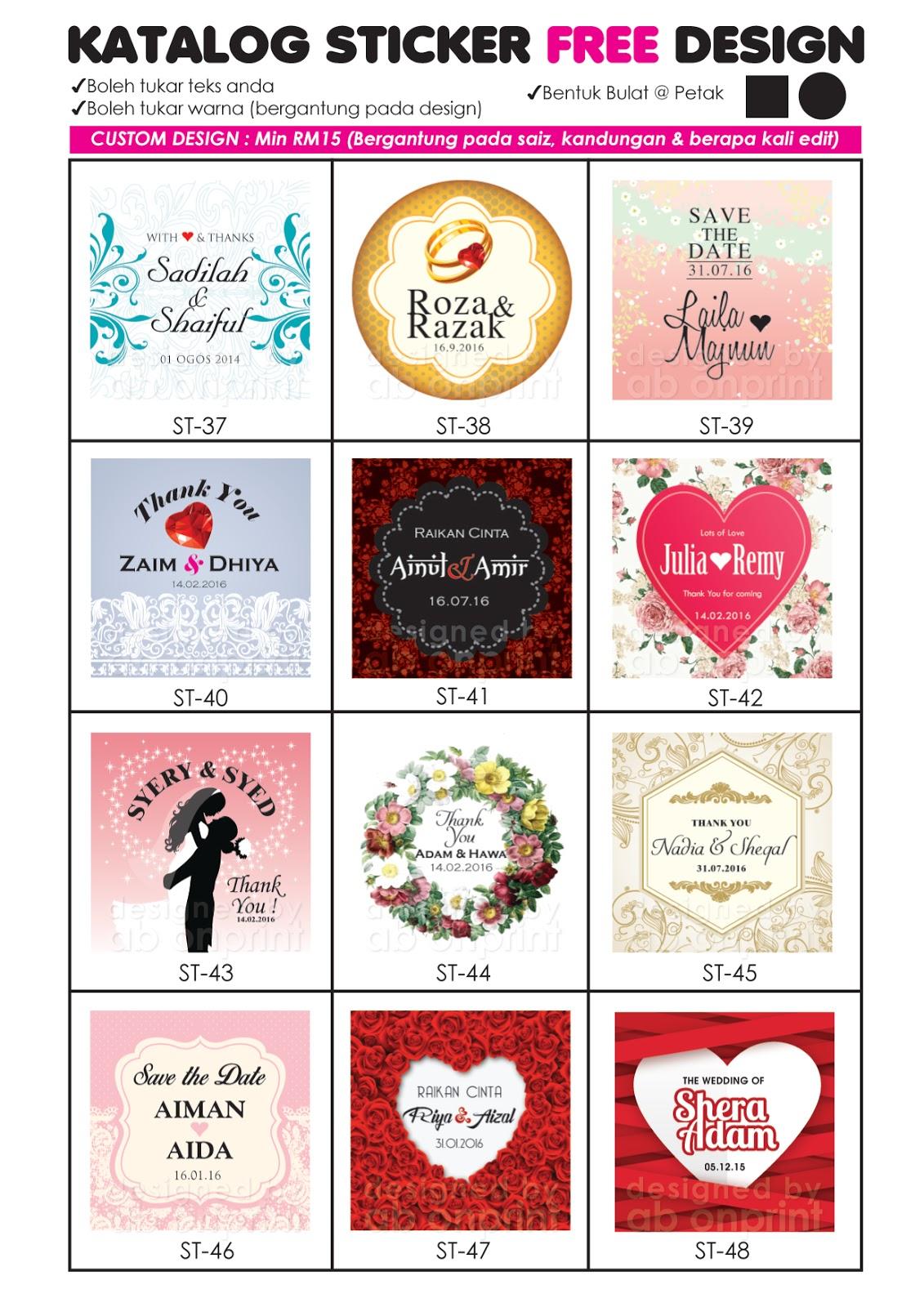 Ab onprint design print katalog design sticker for Design katalog