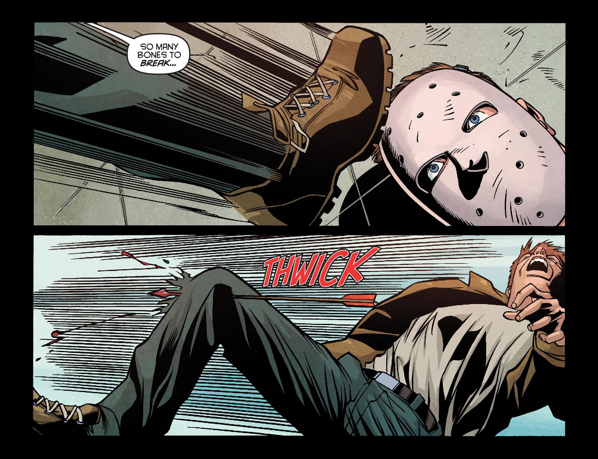 Read online Arrow: Season 2.5 [I] comic -  Issue #18 - 4