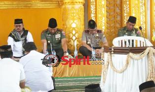 Wakapolda Sulsel,Doa & Zikir Akbar di HUT TNI Ke 72