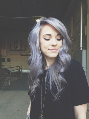 casual gray hairstyle