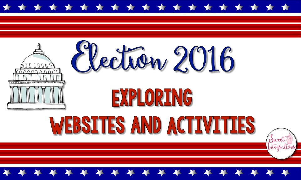 The presidential election is right around the corner. In this post, I've provided websites resources and units  in teaching the election.