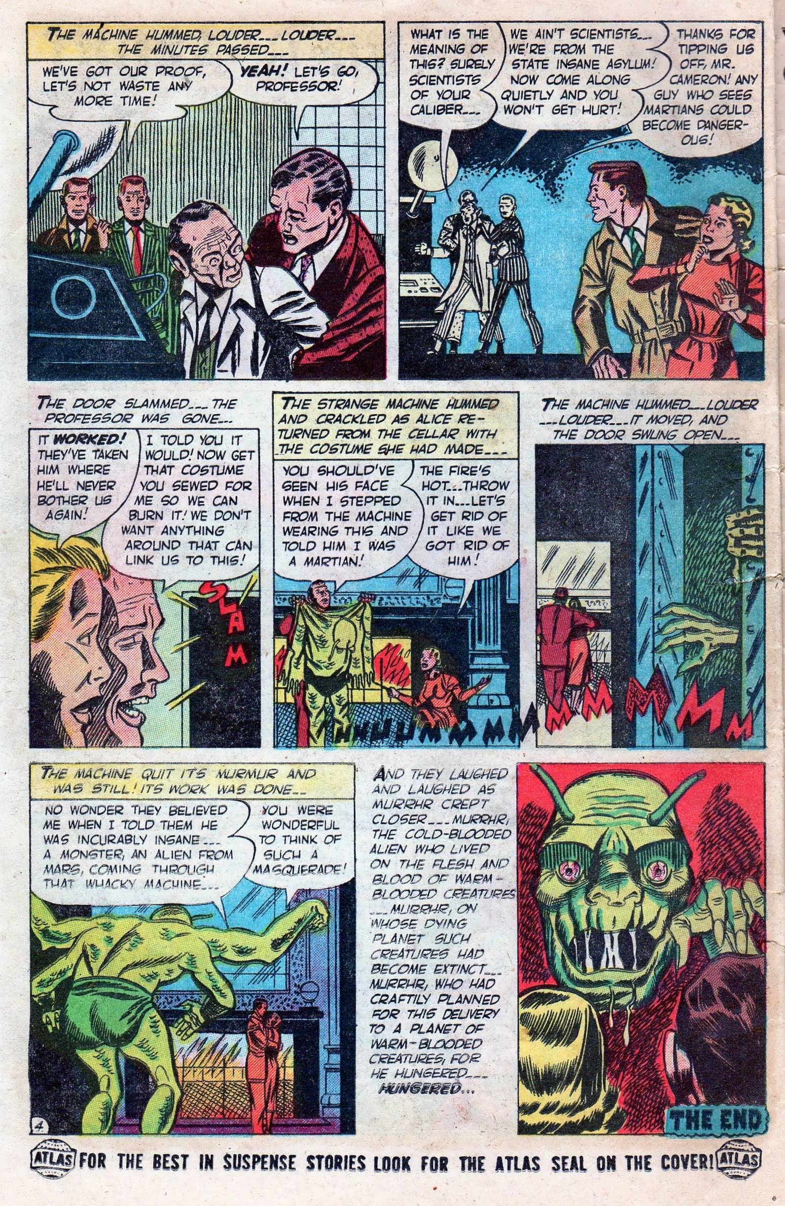 Read online Adventures into Weird Worlds comic -  Issue #11 - 26