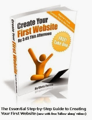 Create Your First Website
