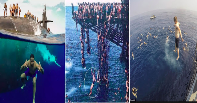 US NAVY Swim Call/TRENDING JUAN