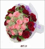 Bunga Tangan Valentine