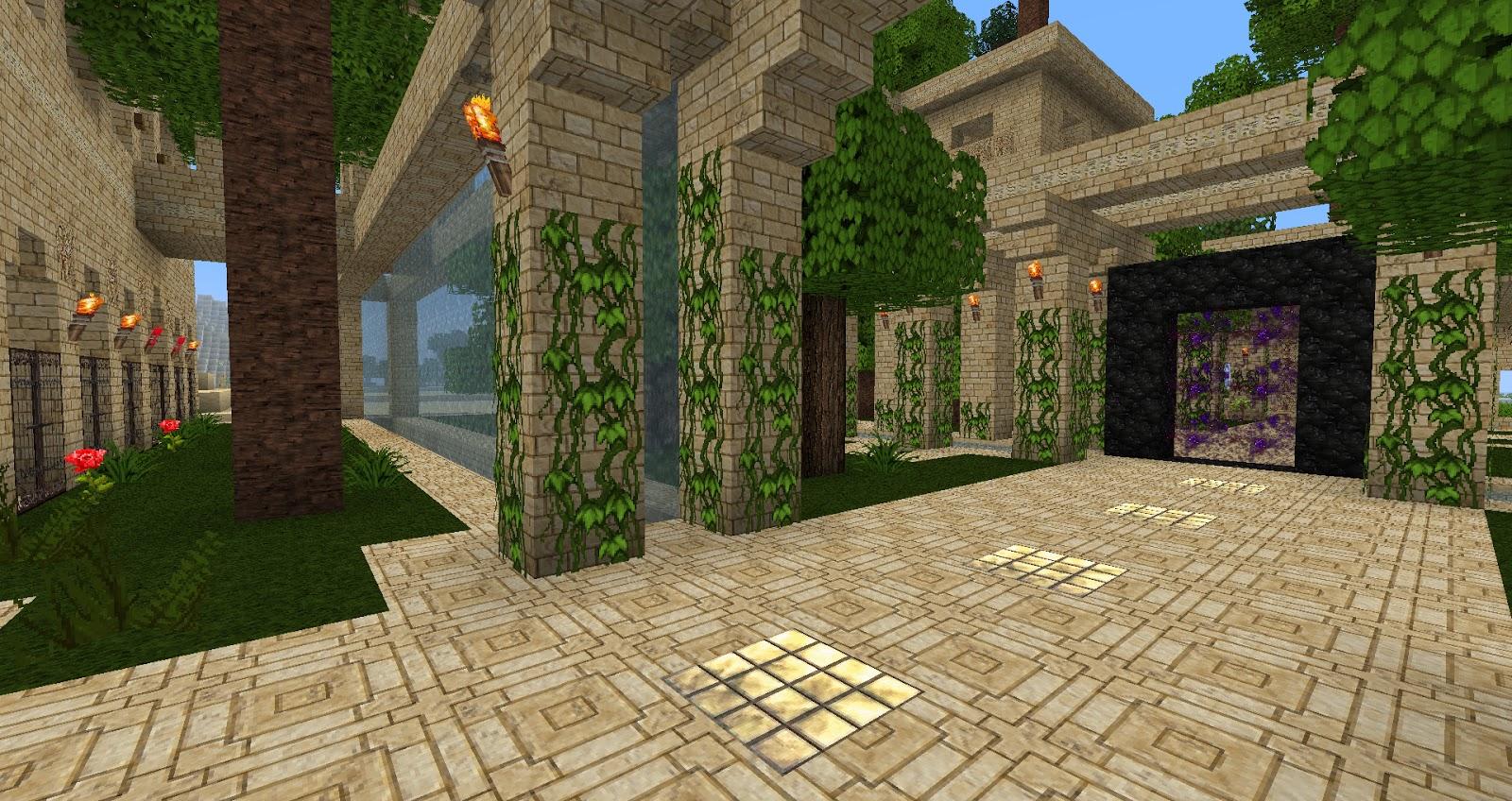 My Minecraft Constructions Minecraft Hanging Gardens