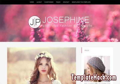 josephine blogger template