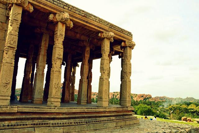 Templo Krishna en Hampi