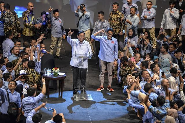 Terima Dukungan Ribuan Pengusaha, Prabowo: Ini Strategis Untuk Perbaikan Ekonomi Bangsa