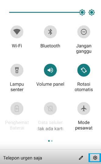 Setelan Android Untuk Buka Aplikasi