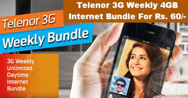 Telenor Weekly Internet Bundle