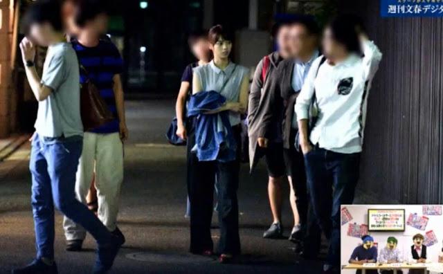 Scandal Nishino Nanase Skandal Nogizaka46