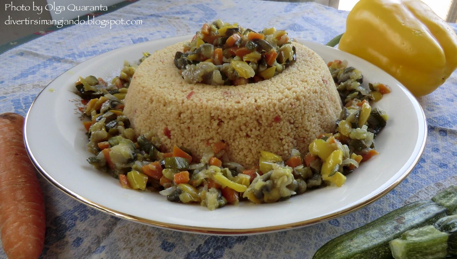 Divertirsi mangiando cous cous vegetariano for Cucinare vegetariano