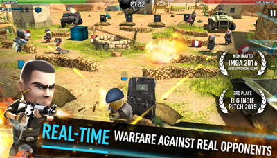Download WarFriends Mod Apk v1.11.0 Unlimited Ammo Terbaru
