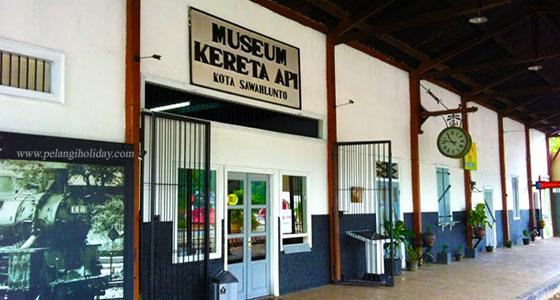 Gedung Museum Kereta Api Sawahlunto