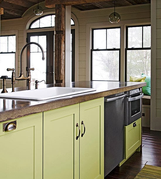 Kitchen Counter Tile: Modern Furniture: 2014 Stylish Stone Kitchen Countertop Ideas
